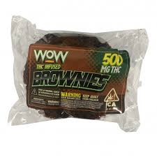 WOW Edibles Brownie-THClear (500mg-THC)