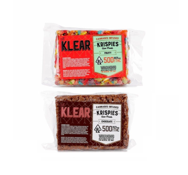 The Klear Cannabis-Infused Krispies (500mg-THC )